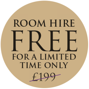 Free Room Hire Badge